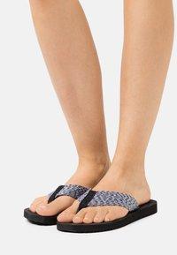 flip*flop - OCEAN - T-bar sandals - black - 0