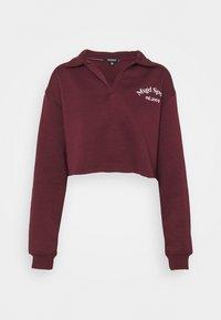 SPORTS  - Sweatshirt - burgundy