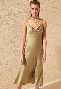 Trendyol - Day dress - green - 1