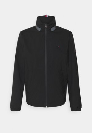STAND COLLAR JACKET - Waterproof jacket - black