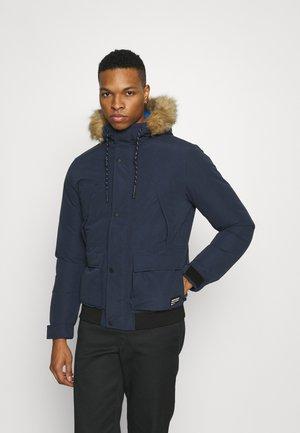 JJSUPER BOMBER - Light jacket - navy blazer