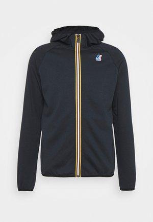 LE VRAI UNISEX - Zip-up sweatshirt - blue depht