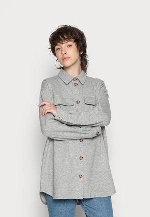 PCCHILLI SHIRT - Summer jacket - light grey melange