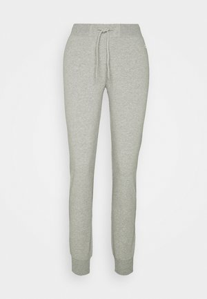 CUFF PANTS - Pantalones deportivos - mottled grey