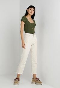 BDG Urban Outfitters - PAX - Džíny Straight Fit - ivory - 1
