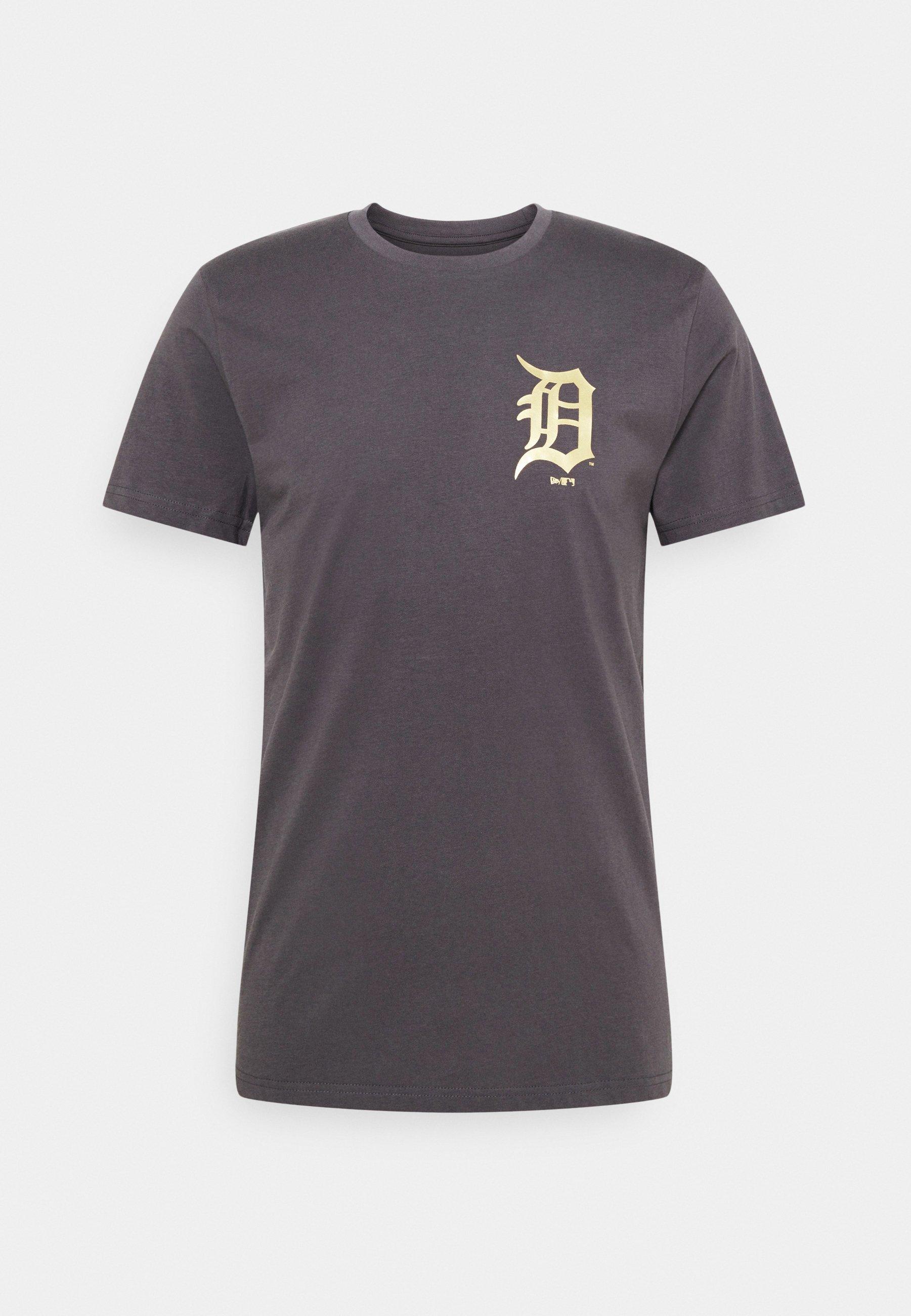 Men MLB DETROIT TIGERS NEW ERA METALLIC TEE - Club wear