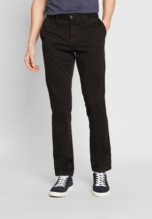 DENTON FLEX   - Chino - black