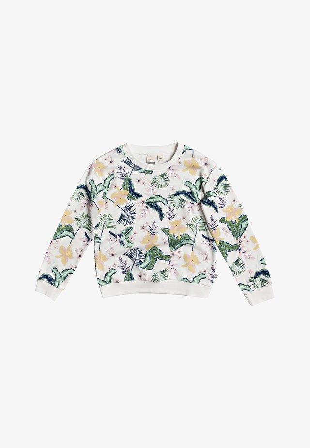 UNDER BLUE LAGOON  - Sweater - snow white rg praslin