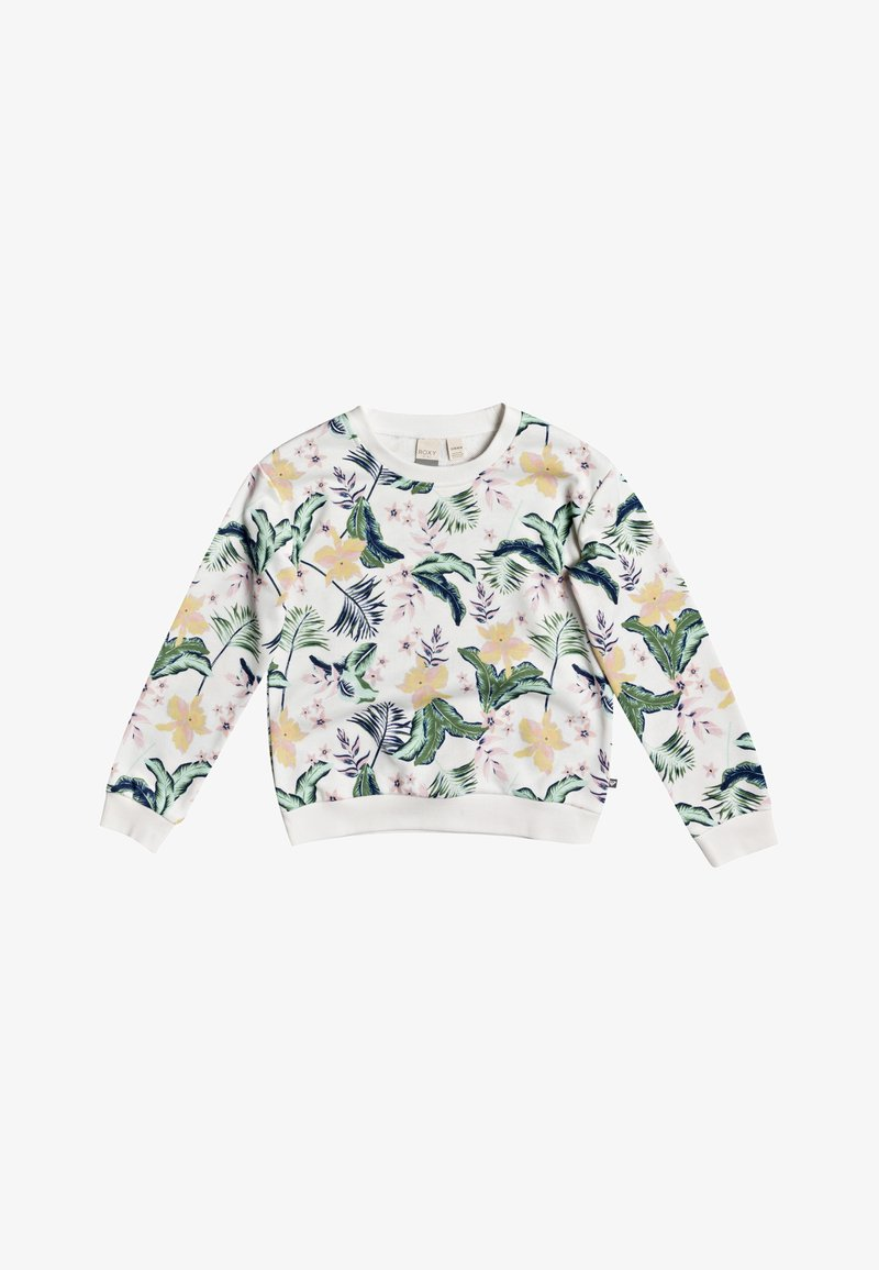 Roxy - UNDER BLUE LAGOON  - Sweatshirt - snow white rg praslin