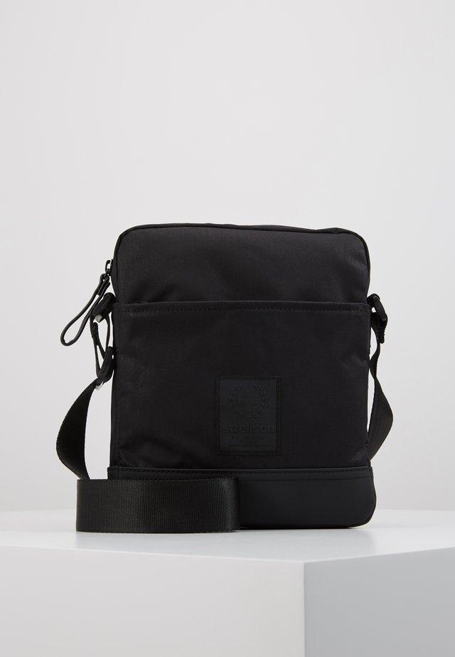 SWISS CROSS SHOULDERBAG - Across body bag - black