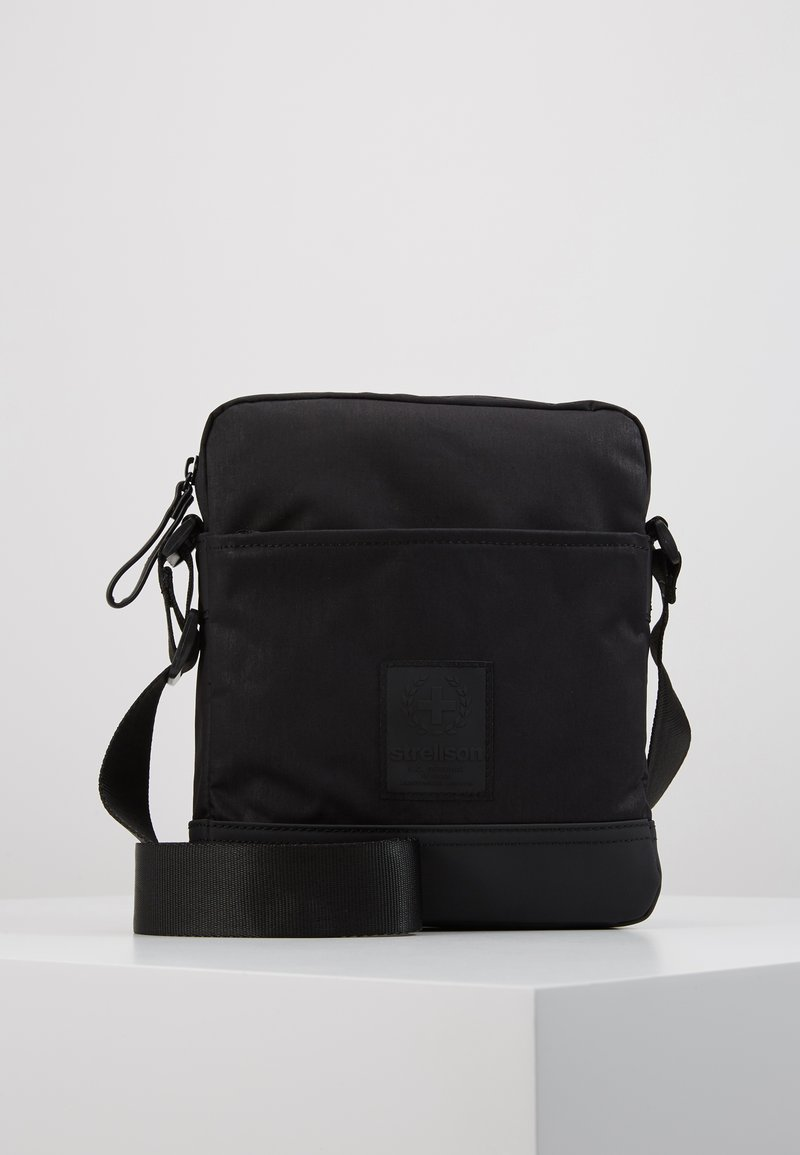 Strellson - SWISS CROSS SHOULDERBAG - Across body bag - black