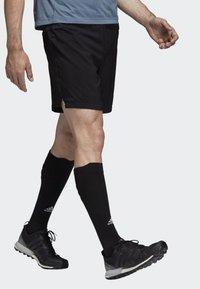 adidas Performance - TERREX TRAIL  - Pantalón corto de deporte - black - 4