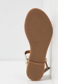 Tamaris - Flip Flops - ivory - 6