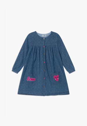 Denim dress - jeans blau