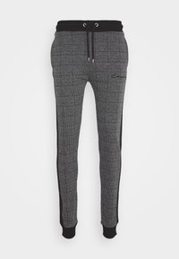 CLOSURE London - CHECKED JOGGER - Tracksuit bottoms - black - 0