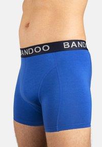 Bandoo Underwear - 2PACK - Pants - navy blue, cobalt blue - 5