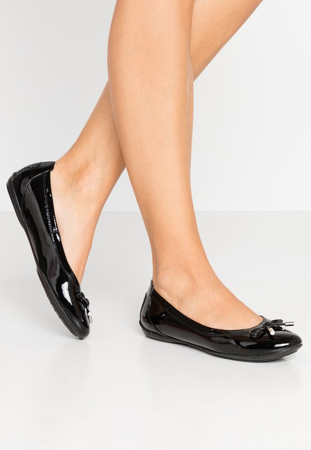 CHARLENE - Ballet pumps - black