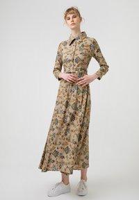 Touché Privé - FLOWER  - Maxi dress - brown - 2