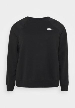 CREW PLUS - Sweatshirt - black/white