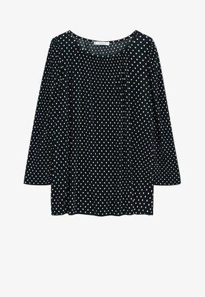 Long sleeved top - sort