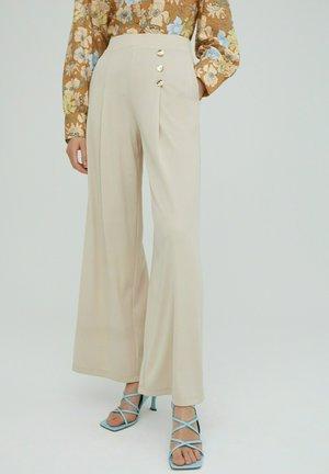JAMIE - Trousers - beige
