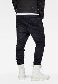 G-Star - D-STAQ 3D  - Jeans fuselé - dark aged - 0