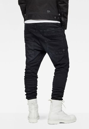 D-STAQ 3D  - Jeans Tapered Fit - dark aged