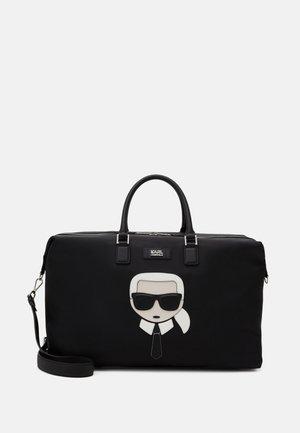 IKONIK WEEKENDER UNISEX - Weekend bag - black