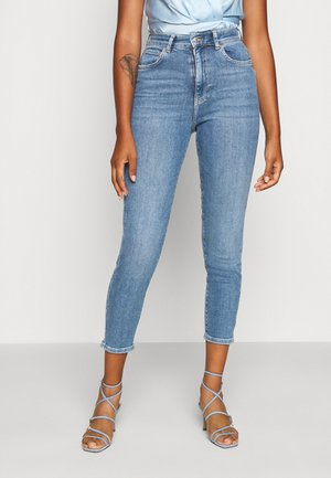 COMFY MOM - Relaxed fit jeans - indigo blue