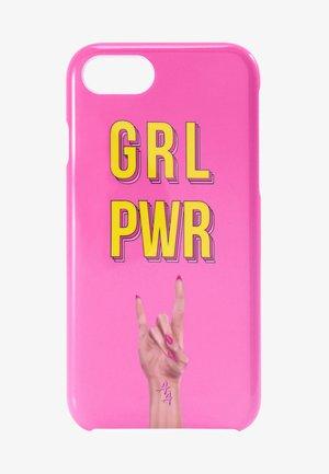 IPHONE 6/7/8 - Étui à portable - pink yellow