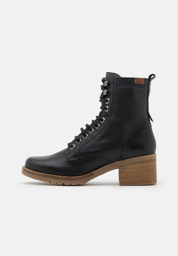 CASIO - Lace-up ankle boots - black
