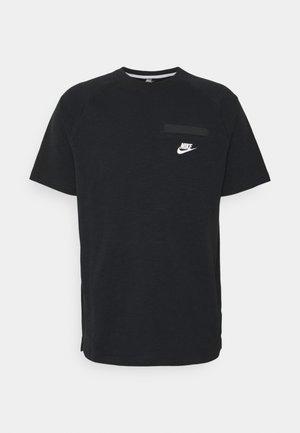 T-shirts basic - black/white