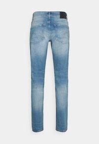 G-Star - 3301 SLIM - Slim fit jeans - azure stretch denim - 6