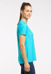 Haglöfs - Basic T-shirt - maui blue - 2