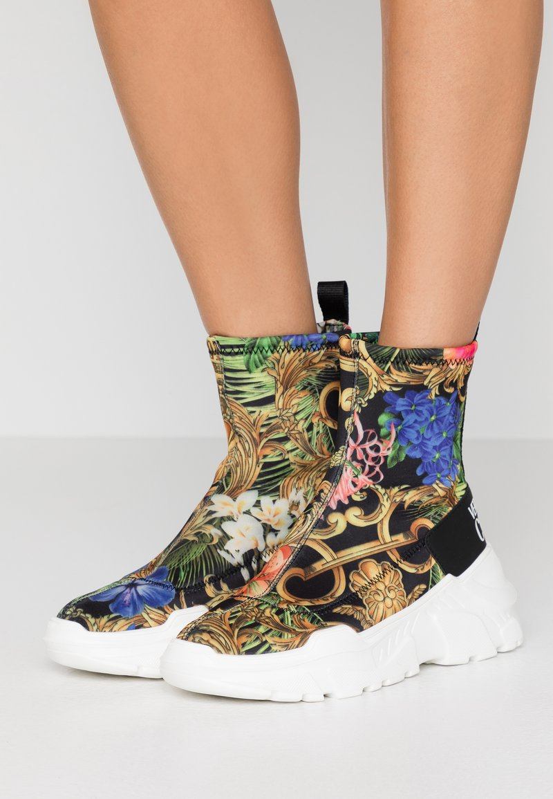 Versace Jeans Couture - Sneakersy wysokie - multicolor