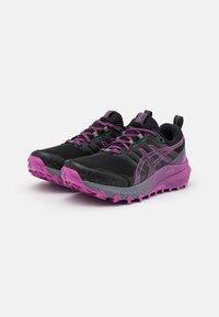 ASICS - GEL TRABUCO 9 G-TX - Chaussures de running - black/digital grape - 1