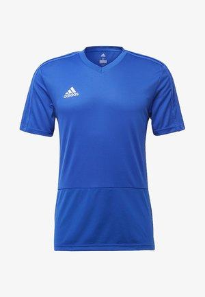 Basic T-shirt - bold blue/white