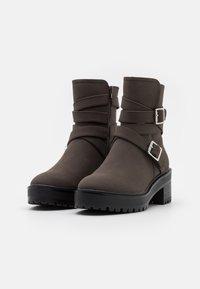Even&Odd - Winter boots - dark brown - 2