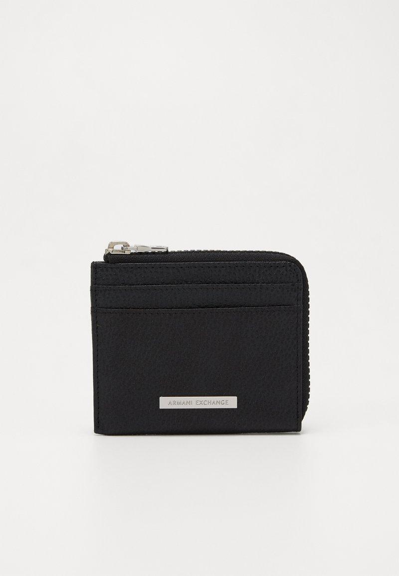 Armani Exchange - CREDIT CARD HOLDER - Monedero - black