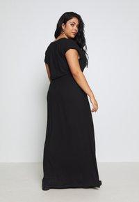 Zign Curvy - Maxi dress - black - 2