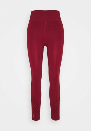 ONPJAVO CIRCULAR TIGHTS - Legging - sun dried tomato