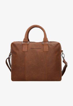 Briefcase - cognac