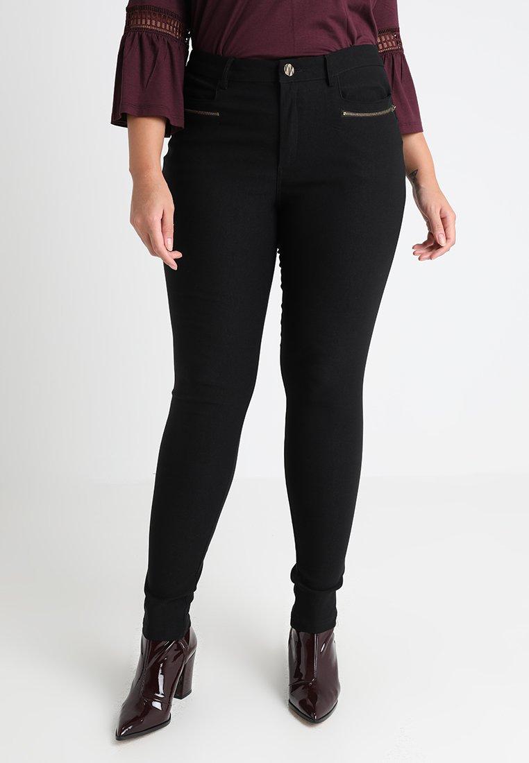 Zizzi - PANT - Trousers - black