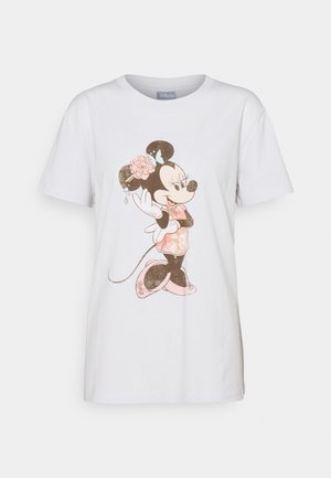 CLASSIC TEE - T-shirt con stampa - oriental minnie/vintage white