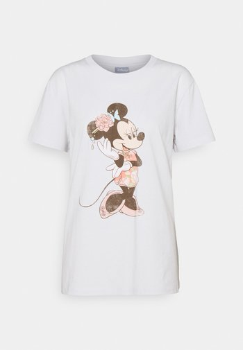 CLASSIC TEE - Print T-shirt - oriental minnie/vintage white