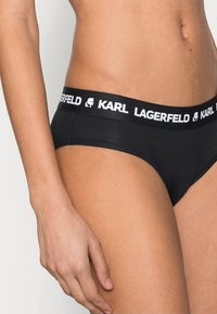KARL LAGERFELD - LOGO HIPSTER 2 PACK - Briefs - black - 3