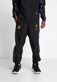 Nike Performance - NBA LA LAKERS RETRO TRACKSUIT - Pelipaita - black/field purple - 3