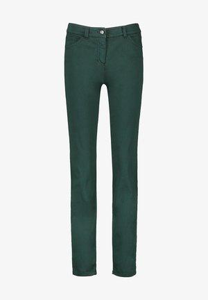 Slim fit jeans - smaragd gruen