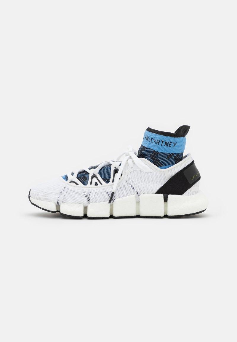adidas by Stella McCartney - ASMC CLIMACOOL VENTO - Zapatillas de running neutras - footwear white/core black/storm blue