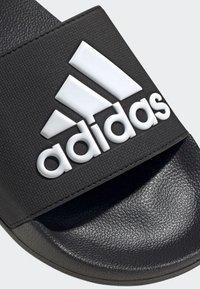 adidas Performance - ADILETTE SHOWER SLIDES - Pool slides - black - 6